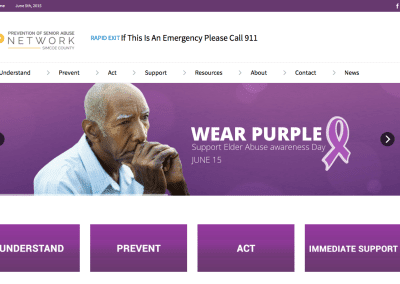 Prevention of Senior Abuse Network