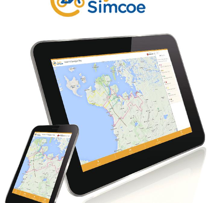 Cycle Simcoe Map App