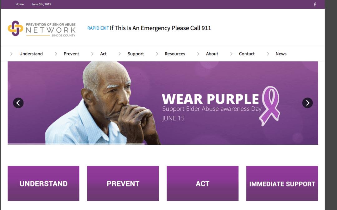 Prevention of Senior Abuse Network