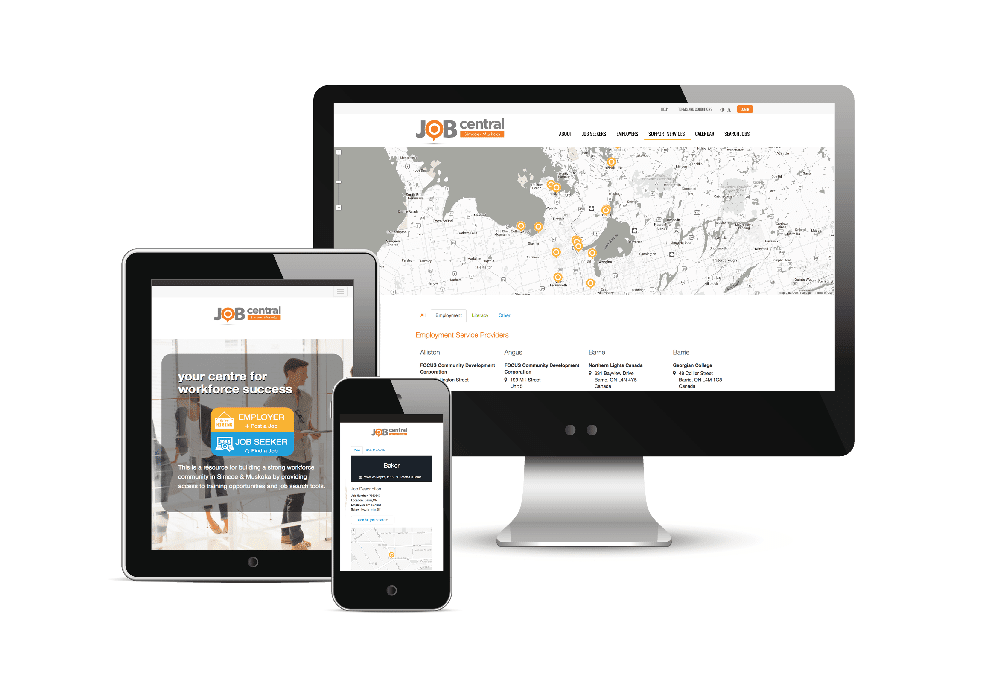 job-central-website
