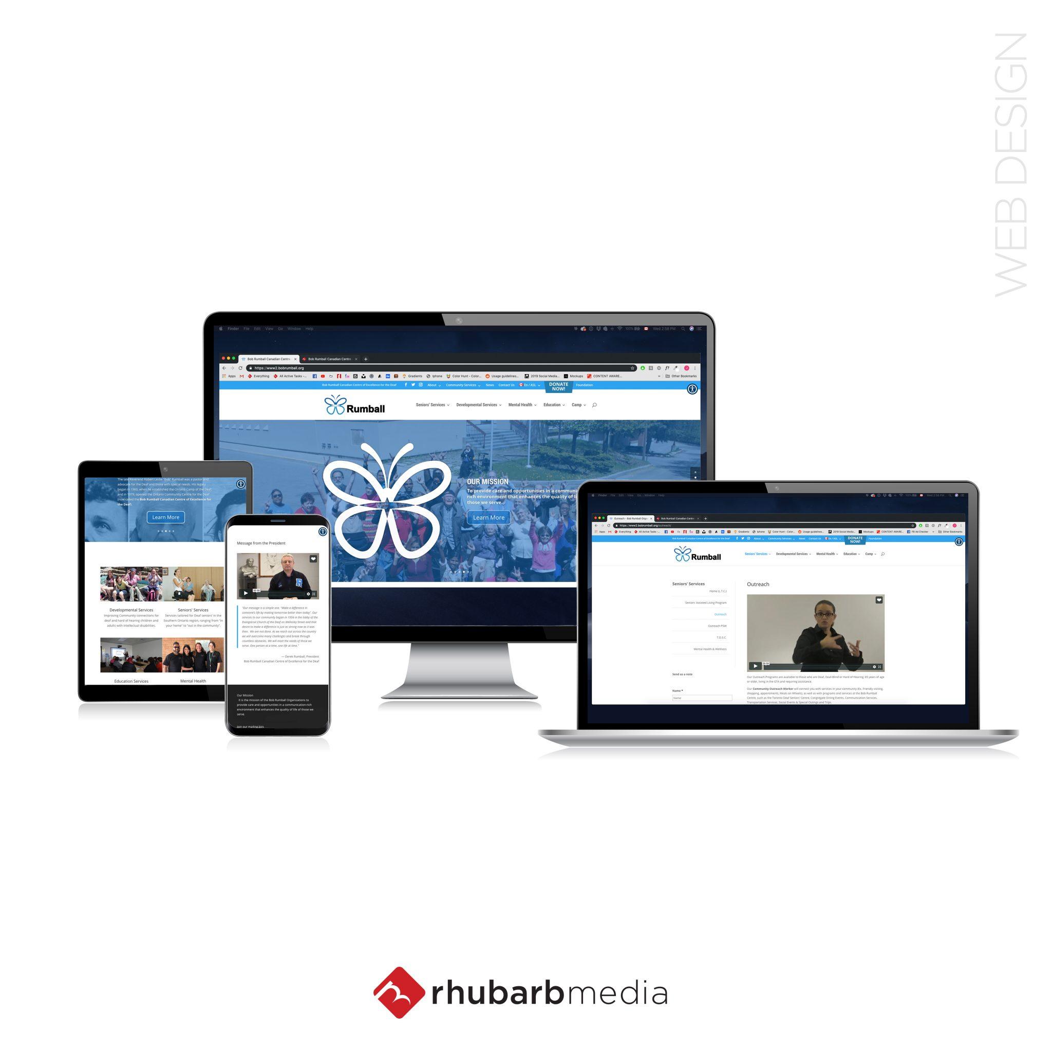 Website-Mockup