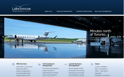 Rhubarb Media Lands the Plane on New Site For LSRA